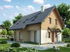 Проект удобного дома с мансардой